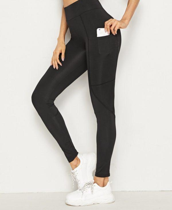 Pocket Leggings Black